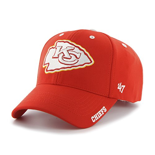 - NFL Kansas City Chiefs '47 Brand Condenser Adjustable MVP(Torch Red, One Size)