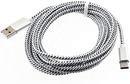 BRAIDED 10FT LONG USB CABLE FAST CHARGE POWER WIRE SYNC CORD for PHONE /& TABLETS