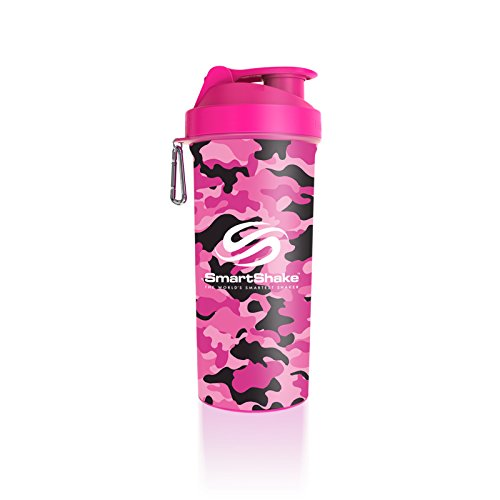 Cheap LITE Bottle, 33 oz Shaker Cup, Pink & White Camouflage