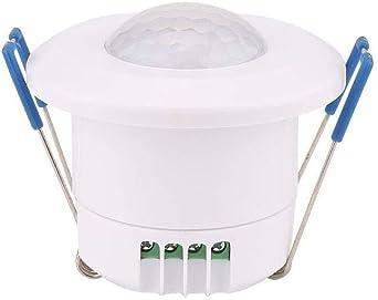 Sensor De Movimiento Humano, Sensor Infrarrojo De LED, Interruptor 220V Hogar, Durable,: Amazon.es: Iluminación