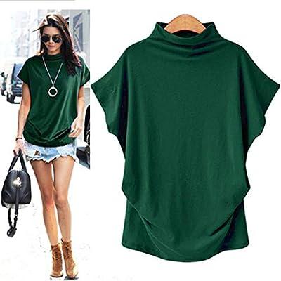 Costura Color de ContrasteTops Lentejuelas Ronamick Moda Mujer Camisetas Sin Mangas Mujer Blusa Negra Mujer Moda Mujer Camisa Flores(Amy Green,S): Amazon.es: Iluminación