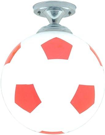 Lámpara colgante de techo en forma de pelota de fútbol, ideal para ...