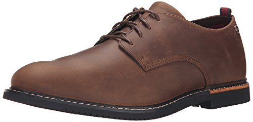 ok Park Oxford Shoe,Brown Oiled Nubuck,12 M US ()