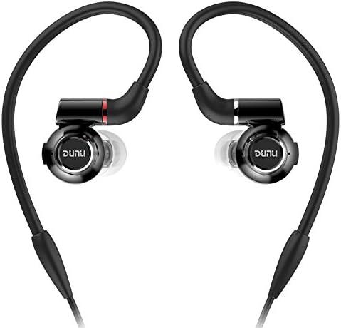 DUNU DK-3001 Hi-Res 3 BA 1 Dynamic Hybrid Titanium Drivers Detachable Cable in-Ear Earphone