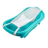 Los primeros años de la bañera para bebés y niños pequeños con eslinga, azul, 1 paquete