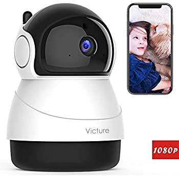 Amazon com : Victure 1080P Baby Monitor with WiFi Camera FHD