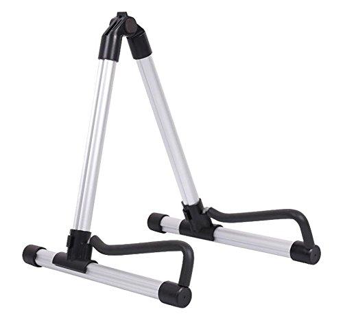 Stand Bass Metal - Aluminum Floor Stand Adjustable Guitar Holder