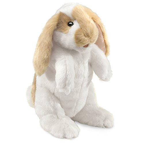 Folkmanis Standing Lop Rabbit Hand Puppet