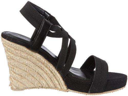 Chinese Laundry Kvinna De Lux Wedge Sandal Svart