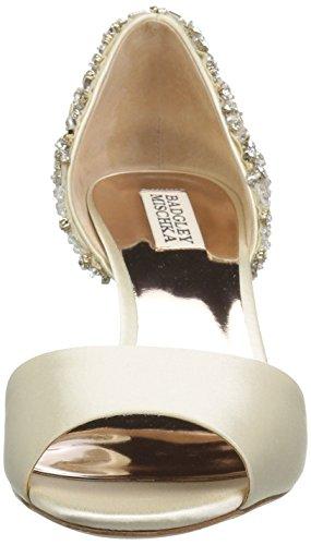 Badgley Mischka Mujeres Sandie Pump Ivory