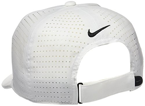 8b8ec66d Nike Youth AeroBill Classic99 Athletic Golf Hat Adjustable (White) by NIKE  (Image #
