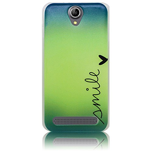 Acer Liquid Z6 Kassette Funda protectora de silicona Funda protectora suave Funda protectora contra el parachoques Funda protectora para teléfono móvil Funda protectora para teléfono móvil Funda para  Sonreír