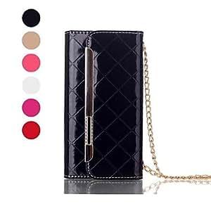 CA-TT-121 Long Strap Vintage Leather Ornate Design Flip Wristlet Pouch Bag Case for iPhone 6 (Assorted Color)