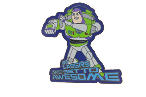 Disney Toy Story Buzz Lightyear Lasers Set to Awesome Pin Buzz Lightyear Laser