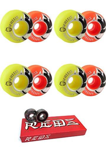 日本最大級 Spitfire Wheels 54mm Bighead クラシックマッシュアップ スケートボードホイール Wheels B07J39TPZW ボーンベアリング付き - 54mm 8mm ボーンスーパー レッド スケート定格スケートボード ベアリング - 2点セット B07J39TPZW, All Mtn Sports Doing:aff49347 --- mvd.ee