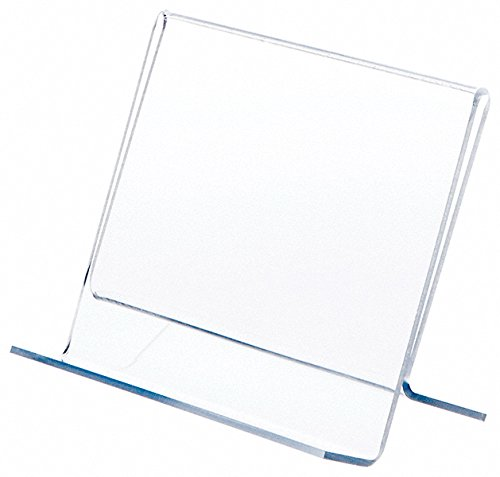 Plymor Clear Acrylic Single CD Case Display Easel, 6