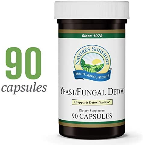Nature's Sunshine Yeast/Fungal Detox, 90 Capsules | Yeast Detox Supplement Provides Candida Cleanse and Promotes Healthy Balance of Microflora