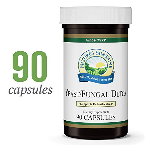 Nature's Sunshine Yeast/Fungal Detox, 90 Capsules | Yeast Detox Supplement Provides Candida Cleanse and Promotes Healthy Balance of Microflora (The Best Candida Cleanse Products)