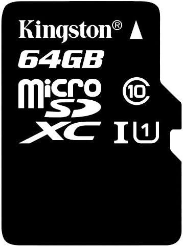 プロフェッショナルキングストンMaxwest MX-210TV MicroSDHC MicroSDXCカード カスタムフォーマットと標準SDアダプター付き (クラス10、UHS-I)