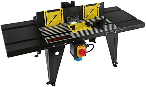EBERTH Mesa para fresadora (870 x 330 mm Mesa de trabajo, 155 mm ...