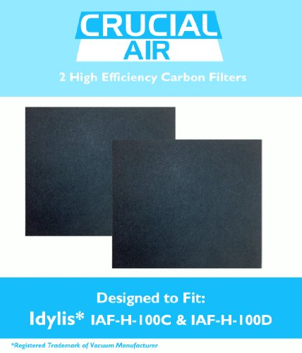 1 Idylis C & 1 D Carbon Filter, Compared to Part # IAF-H-100C, IAF-H-100D & 302656, Designed & Engineered by Crucial Air