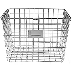 Spectrum Diversified Storage Basket, Medium, Satin Nickel