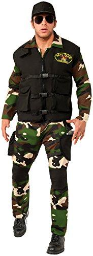 Rubie's Costume Co Men's Seal Team 3 Costume, Multi, (Army Man Costume Men)