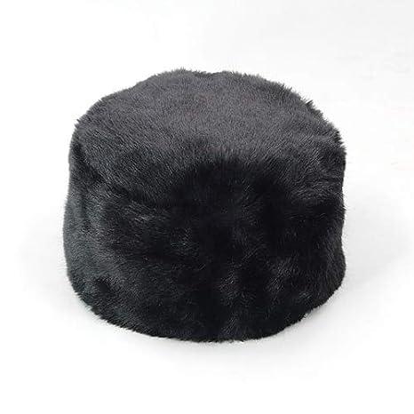 37b2dad7b3361 Amazon.com  Blue Stones Women Lady Hats Russian Tick Fluffy Faux Fox Fur Hat  Headband Winter Earwarmer Ski Hat Female Autumn Winter Hat with Ears   Kitchen   ...