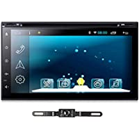 TOCADO GPS Navigation Car DVD Player Android 6.0 Car Setero Quad-core 7 In-Dash DVD Receiver with RDS Radio Bluetooth SD for Universal Car with Backup Camera