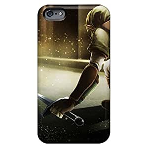 iphone 6plus 6p Super Strong phone case cover stylish Sanp On link shield the legend of zelda oracle swords