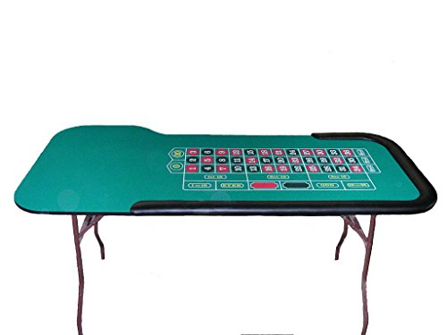 - 84 Inch Profesional Roulette Table - Made in the USA
