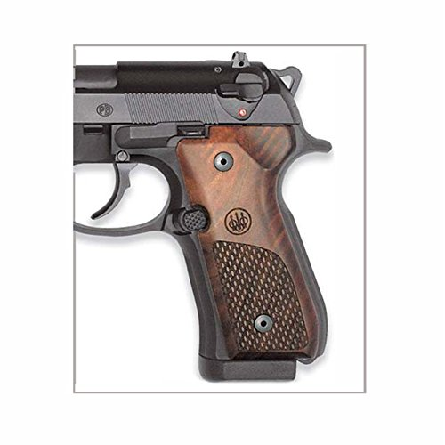 Beretta Grips for 92/96 Walnut with Oval Checkering