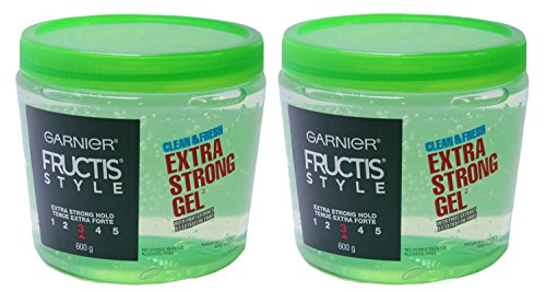 Garnier Fructis Clean and Fresh Extra Strong Gel #3, Jumbo J