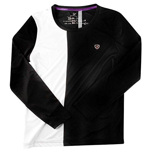 Limited Sports Longsleeve Shirt Lorene Women - Ropa blanco / negro