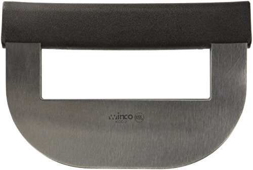 Winco KCC-2 Double Blade Chopping Knife with Polypropene (Chopping Blade)
