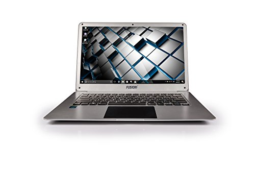 14.1'' HD Laptop Computer Intel x5-Z8350 64-bit Quad core Windows 10 with 2GB RAM 64GB SSD USB 3.0 Laptop Computer by Fusion5