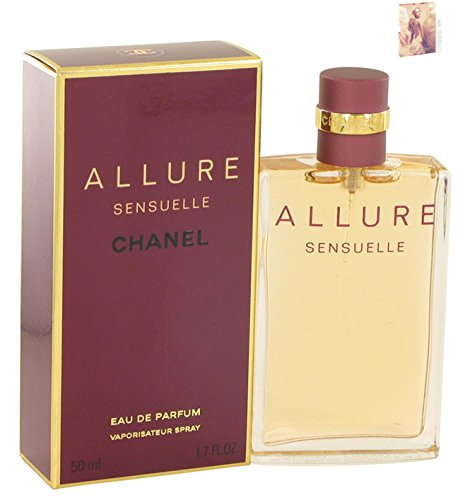 Allúré Sénsuéllé Chánél Perfume For Women Eau De Parfum Spray 1.7 oz Free! MA 0.06 - Blue Chanel For Women