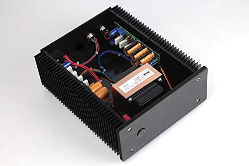 Pukido Finished 12V @4A + 19V @4.5A 2 way Ultra-low noise Linear power supply - (Plug Type: US plug) (Linear 19v Power Supply)