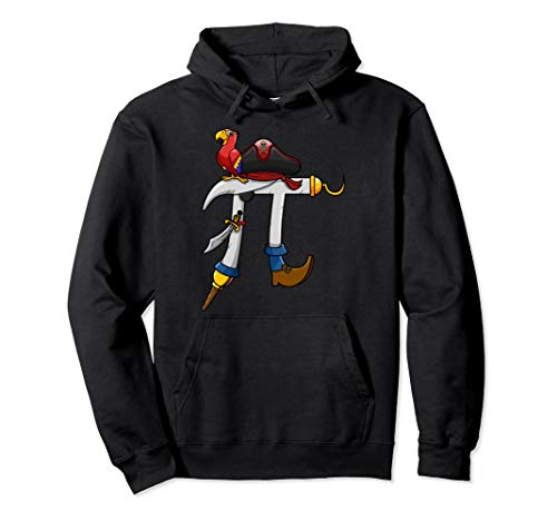 (Pi Day Hoodie Kids Pi Rate Pirate Math Geek Boys Grunge)