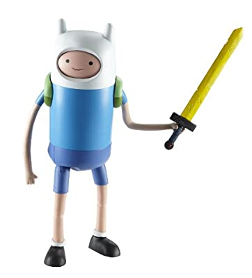 "Adventure Time 10"" Super Posable Finn with Changing Faces"