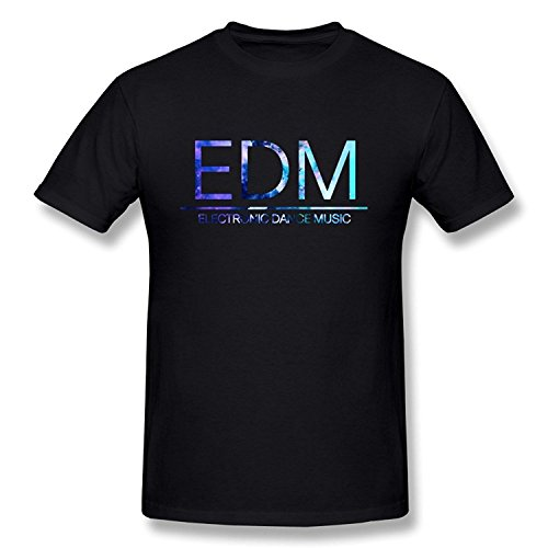 WunoD Men's EDM Electronic Dance Music T-shirt Size M