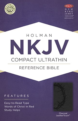 Download NKJV Compact Ultrathin Bible, Charcoal LeatherTouch pdf