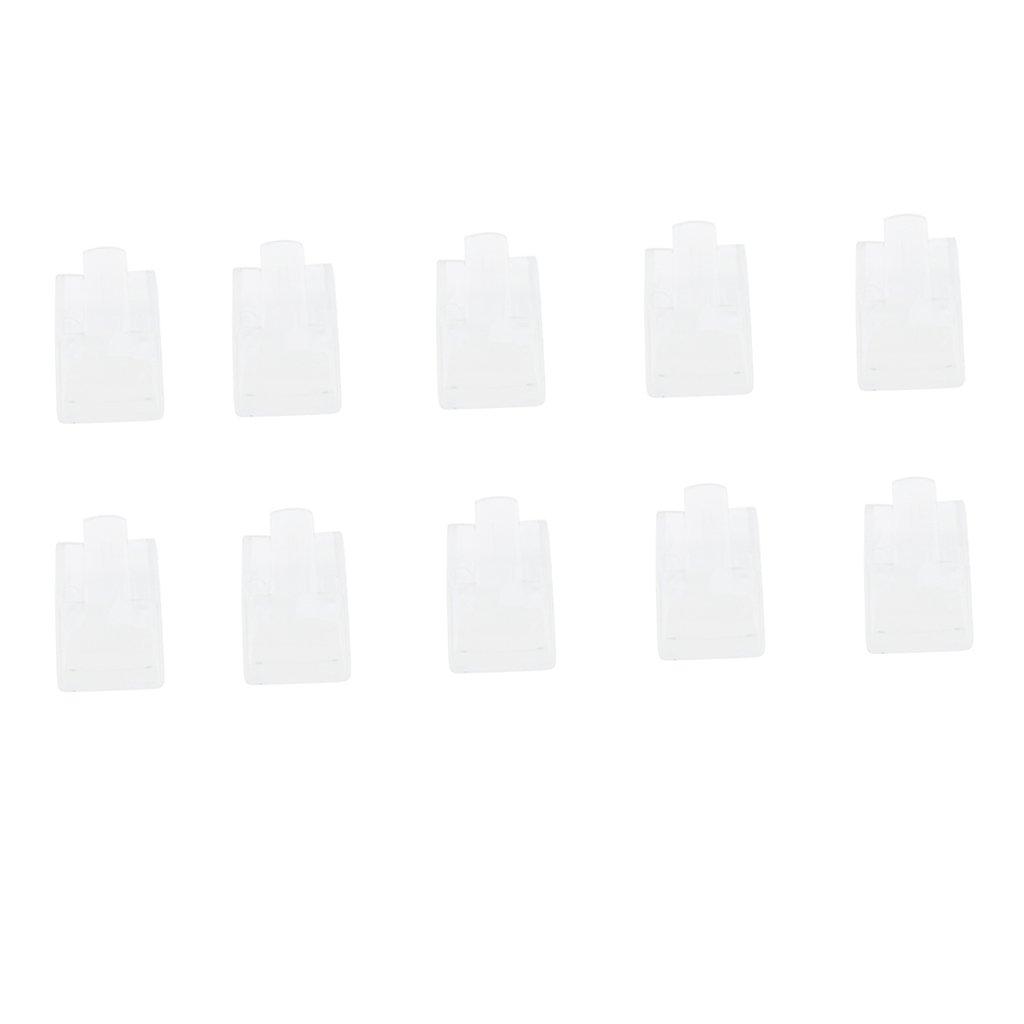 Negro CUTICATE Paquete De 10 Titulares De Soporte De Anillo De Dedo De Pl/ástico Decoraci/ón De Escaparate De Joyer/ía De Mujer Individual