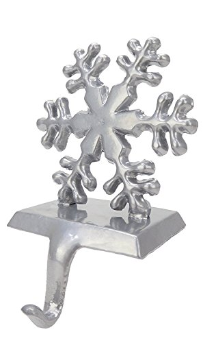 (Christmas Concepts Silver Snowflake Christmas Stocking Hanger)