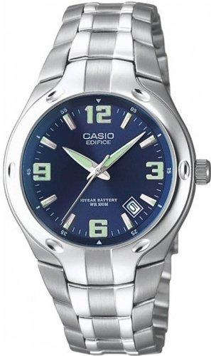 CASIO Reloj Analógico para Hombre de Cuarzo con Correa en Acero Inoxidable PLCMB07/B: Amazon.es: Relojes