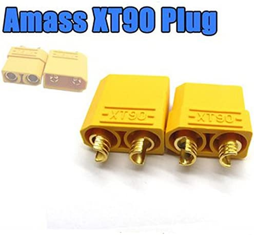 10 x RC HXT 3.5MM Gold Bullet Lipo Battery Connector Plane Helicopter Car Quad