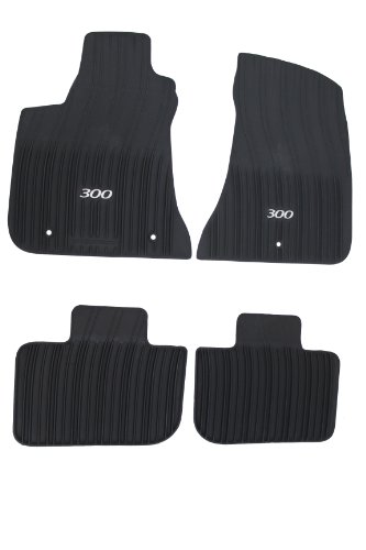 Mopar 82212255AB Black All-Weather Floor Mat RWD Vehicles Only