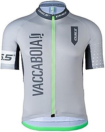 Q36.5 Jersey Shortsleeve G1 Vaccaboia Y Camiseta de Ciclismo Hombre