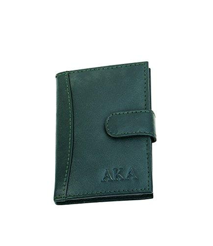 Alpha Kappa Alpha Sorority Leather Card Holder ()