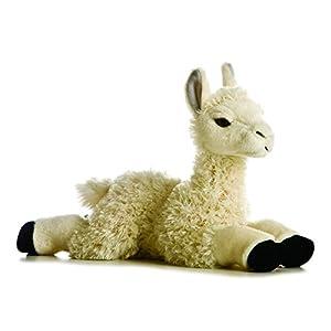 """Aurora Plush 12"""" Llama Flopsie - 41zdiMUkJkL - Aurora World Flopsie Plush Llama 12″"""